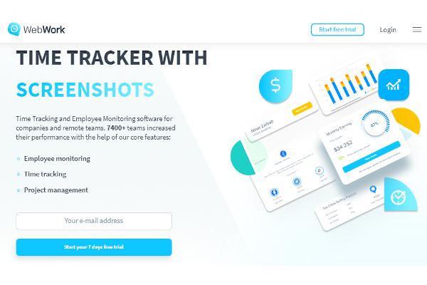 webwork time trackers