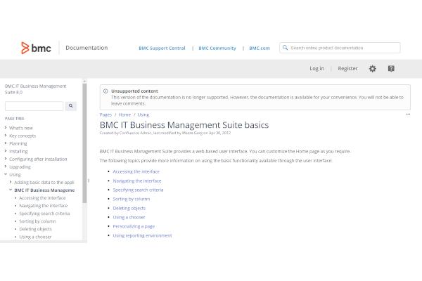 bmc it business management suite