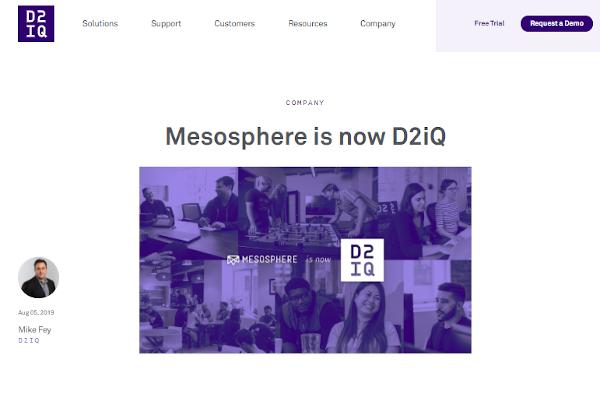 d2iq mesosphere