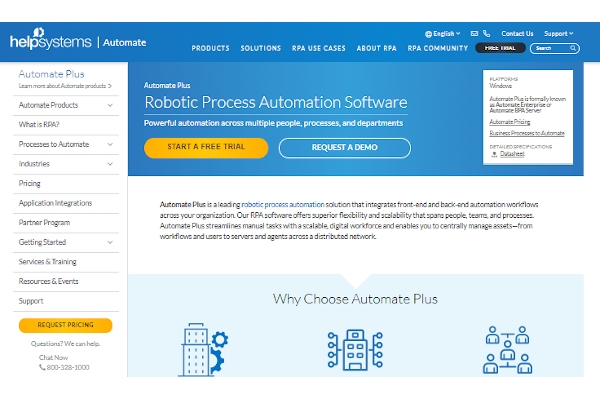 helpsystems automate plus