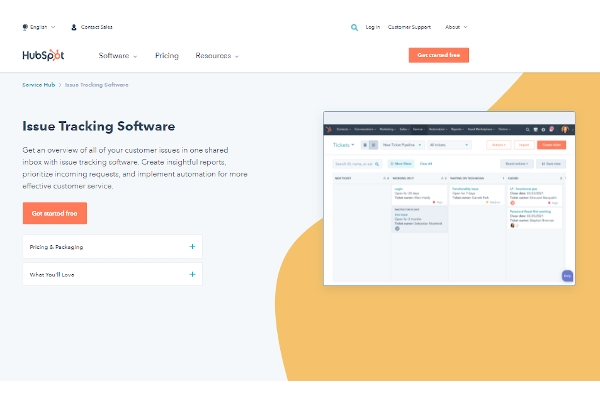 hubspot crms issue management