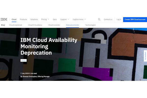 ibm cloud availability monitoring