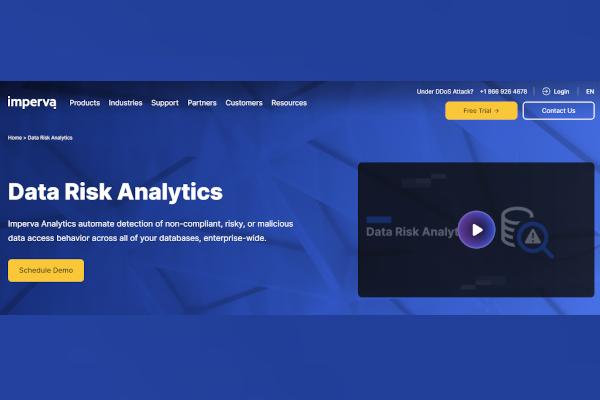 imperva data risk analytics