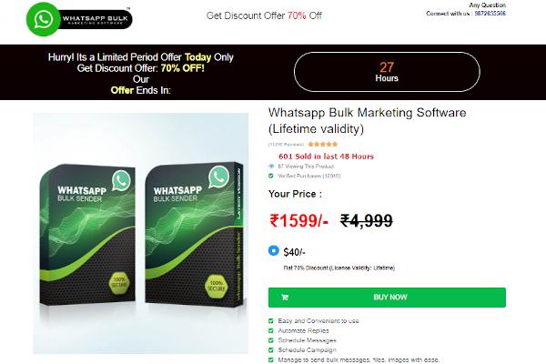 meshink whatsapp marketing pro