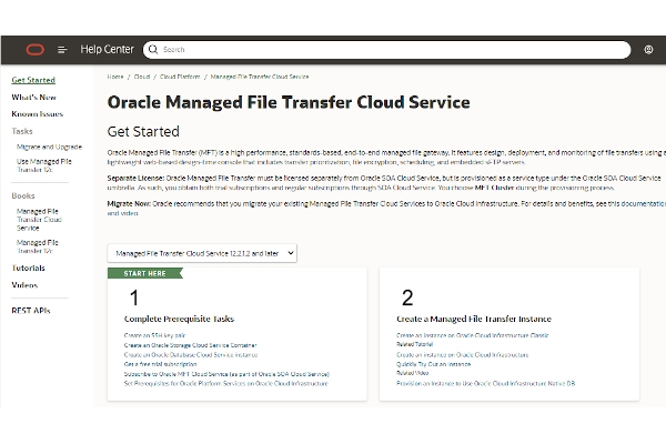 oracle managed file transfer cloud service