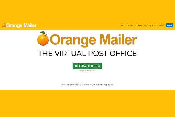 orange mailer