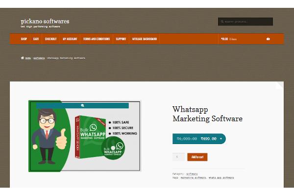 pickano whatsapp marketing