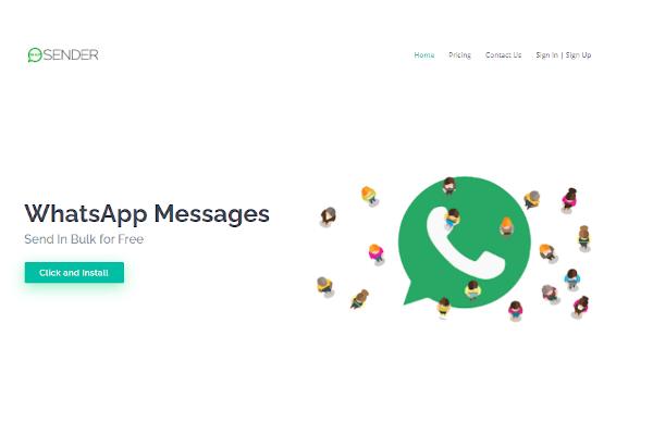 whatsapp sender