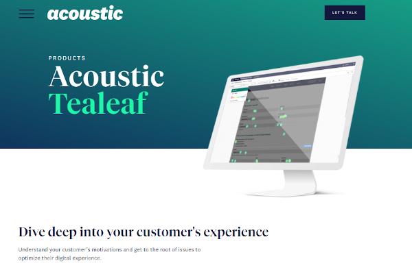 acoustic experience analytics
