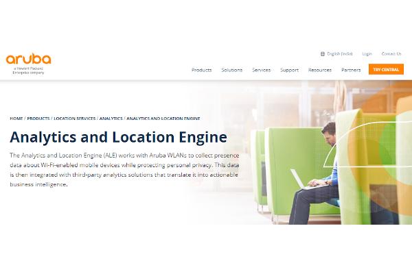 aruba analytics and location engine