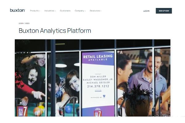 buxton analytics platform