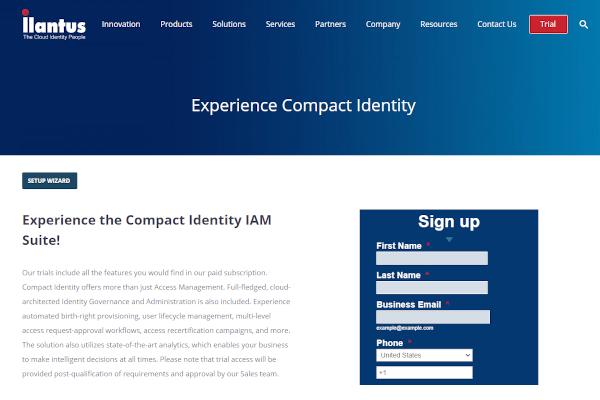 compact identity