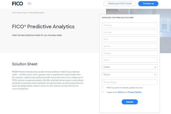 fico predictive analytics