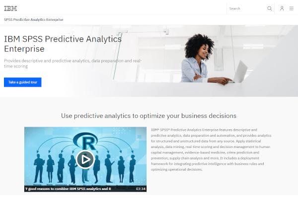 ibm spss predictive analytics enterprise