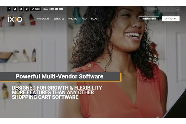 ixxo multi vendor software