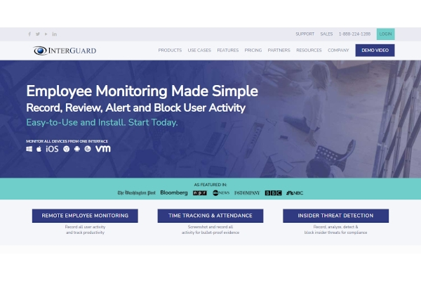 interguard employee monitoring software