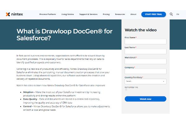 nintex drawloop docgen