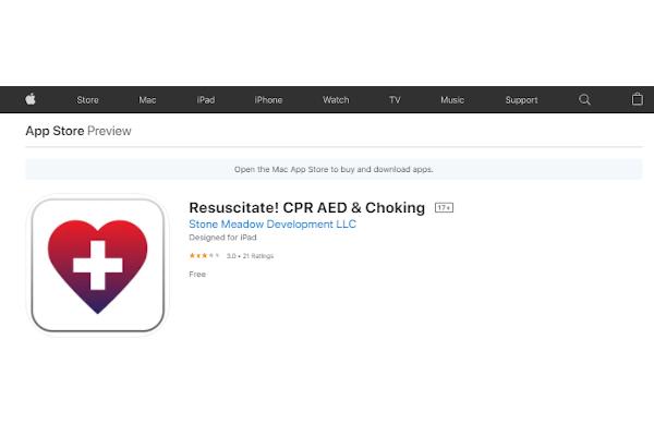 resuscitate cpr aed choking