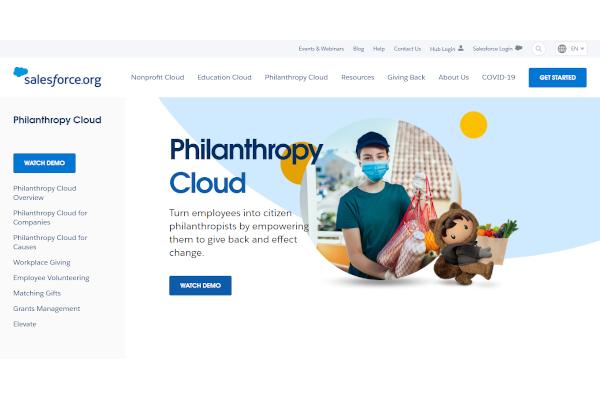 salesforce philanthropy cloud