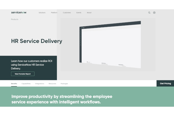 servicenow hr service delivery