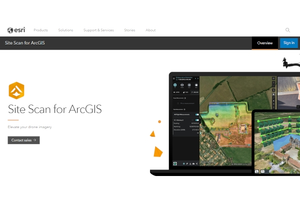 site scan for arcgis