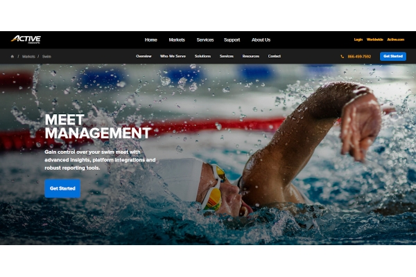 swim meet management