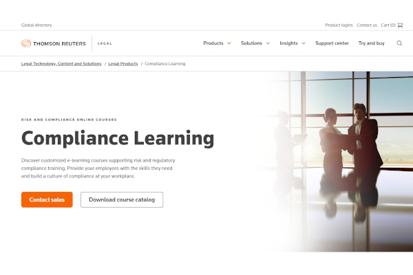 thomson reuters compliance learning