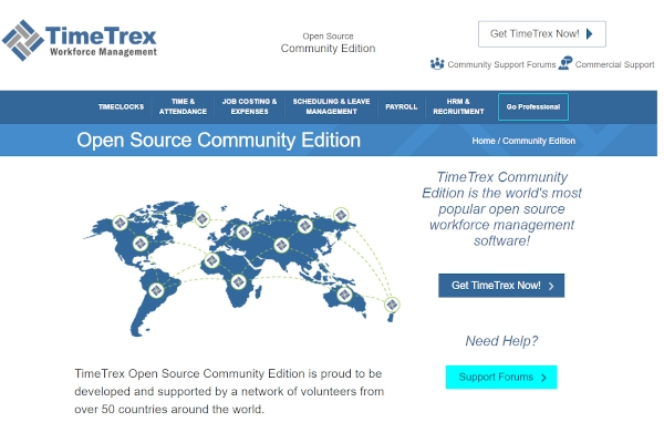 timetrex community edition