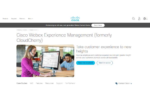 webex experience management