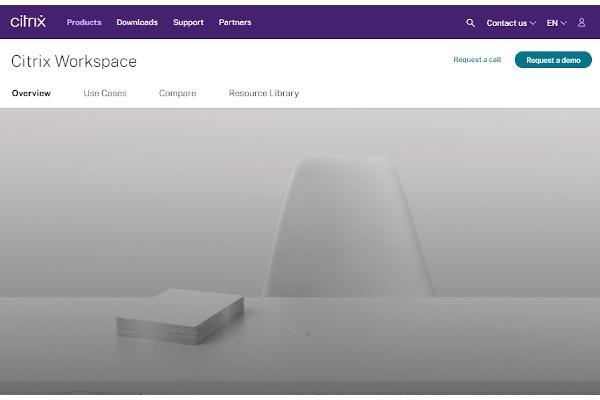 citrix workspace featuring citrix virtual apps and desktops