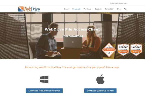 webdrive file access client