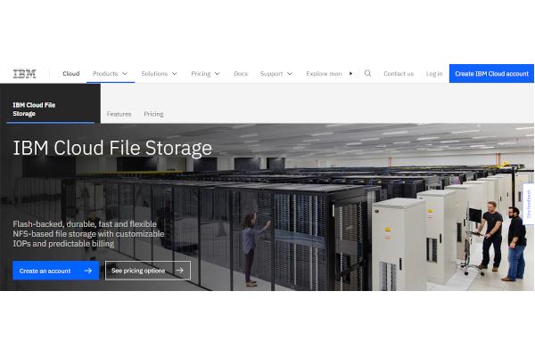 ibm cloud file storage